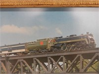 GROUPING OF 3 RAILWAY FRAMED PRINTS