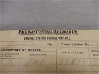 GROUPING OF NEW YORK CENTRAL RAILWAY COLLECTIBLES+