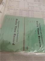 2 FULL BINDERS OF NYC -GTR- CP-CN RAILWAY EPHEMERA