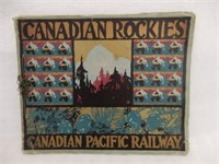 CANADIAN ROCKIES CANADIAN PACIFIC RAILWAY BOOKLET
