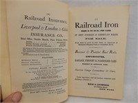 RARE RAILWAYS OF CANADA  BOOKLET