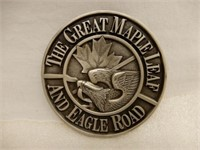 GREAT MAPLE LEAF & EAGLE ROAD CN-GT- PAPERWEIGHT