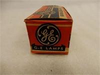 CANADIAN GENERAL ELECTRIC HAND LANTERN BULBS /BOX