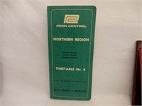 LOT OF 5 VINTAGE RAILWAY BOOKLETS