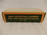 AVON CENTENNIAL EXPRESS AFTER SHAVE LOTION/ BOX