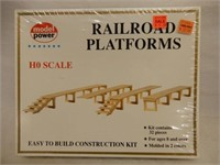 GROUPING 6 RAILWAY MODEL ACCESSORY KITS / BOXES