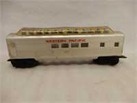 LOT OF 5 WESTERN PACIFIC TRAIN & CARS +