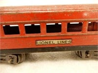 VINTAGE GROUPING 4 LIONEL LINES TRAIN & CARS