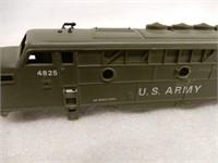 U.S. ARMY F3 DIESEL ENGINE 4825 & SHELL OF TRAIN