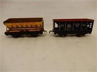 LARGE GROUPING OF MODEL RAILWAY ENGINE & CARS