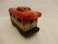 LOT OF MARX RAILROAD TRAIN CARS & SWITCH PLATES