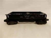 GROUPING OF 8 LIONEL1829 LOCOMOTIVE & TRAIN CARS