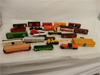 LOT OF RAILWAY MODEL RESTORATION PARTS
