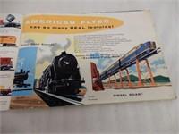 1957 GILBERT AMERICAN FLYER TRAINS BOOKLET