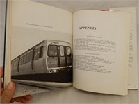 URBAN RAIL IN AMERICA  HARDCOVER BOOK/ DUST COVER