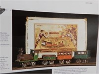 A CENTURY OF MODEL TRAINS HARD COVER BOOK/ DUST