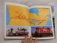 1985 CANADIAN PACIFIC HARD COVER BOOK/ DUST COVER