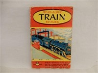 1957 READ-ALOUD TRAIN STORIES SOFT COVER BOOK