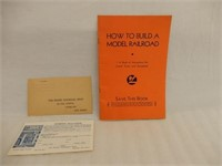 LIONEL HOW TO BUILD A MODEL RAILROAD / ENVELOPE
