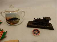 LARGE GROUPING CANADA & U.S.RAILWAY COLLECTIBLES