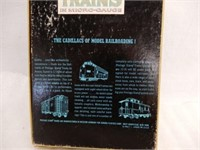 POSTAGE STAMP TRAINS/ SERVICE MANUALS / BOX ONLY