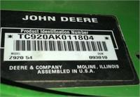 John Deere Zero Turn