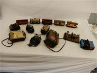 GROUPING- SOME MARX RAILWAY CARS+ TRANSFORMERS +