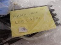 LARGE LOT PLASTICVILLE BUILDING KITS/  SOME BOXES
