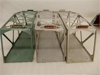 GROUPING OF 7 LARGE RAILROAD TRAIN ACCESSORIES