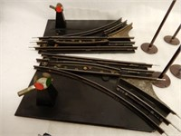 GROUPING OF MARX ACCESSORIES, TRACK, SWITHCES