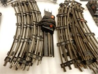 LOT OF MARX & LIONEL SWITCHES & 3 RAIL TRACK???