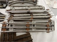 LOT OF MARX & LIONEL RAILWAY TRACK, SWITCHES