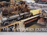 PC INSIDER'S EXPRESS HO ELECTRIC TRAIN SET/ BOX