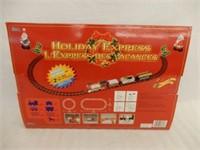 HOLIDAY EXPRESS BATTERY OP. TRAIN SET/ BOX