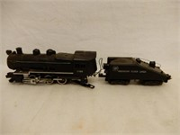 GROUPING OF AMERICAN FLYER LOCOMOTIVES  & CARS