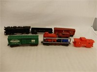 GROUPING RAILROAD ENGINE & CARS