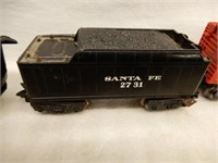 LOT OF RAILROAD ENGINES, CARS, TRACK & ACCESSORIES