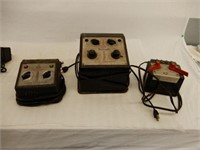 GROUPING OF 3 LIONEL RAILWAY TRANSFORMERS
