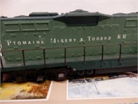 PTOMAINE MISERY & TOOBAD RR #101 / WALTHERS / BOX