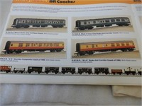 GROUPING RAILROAD CARS, ACCESSORIES & BLUE PRINT
