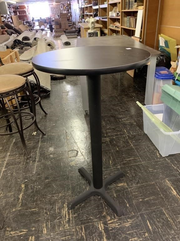 Pub Table 42 Inches Tall 24 Inch Round