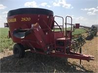 Equipment - Feed/Mixer Wagon  SCHULER 2820 912406