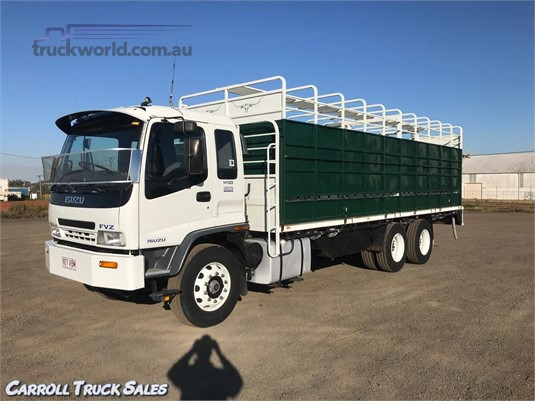 2001 Isuzu FVZ 1400 Long Carroll Truck Sales Queensland - Trucks for Sale