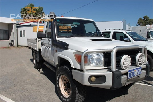 2008 Toyota Landcruiser Catalano Truck And Equipment Sales And Hire - Light Commercial for Sale