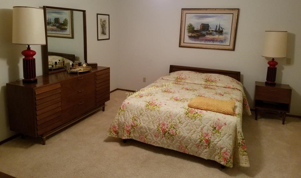 American Of Martinsville Mid Century Bedroom Set | 2nd Cents Inc