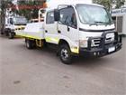 2009 Hino 300 Series 816 Crew Auto Crane Truck