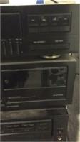 Kenwood Stereo Double Cassette Deck