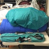 Camping Tent & Sleeping Bag