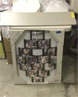 Collage Photo Frame & Shelf