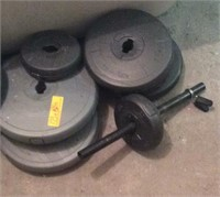 Weights With new bar